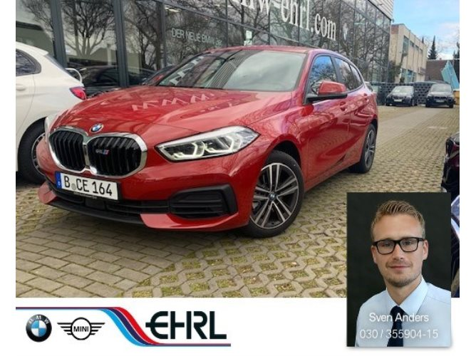BMW 118i Advantage DAB LED WLAN Tempomat Klimaaut.