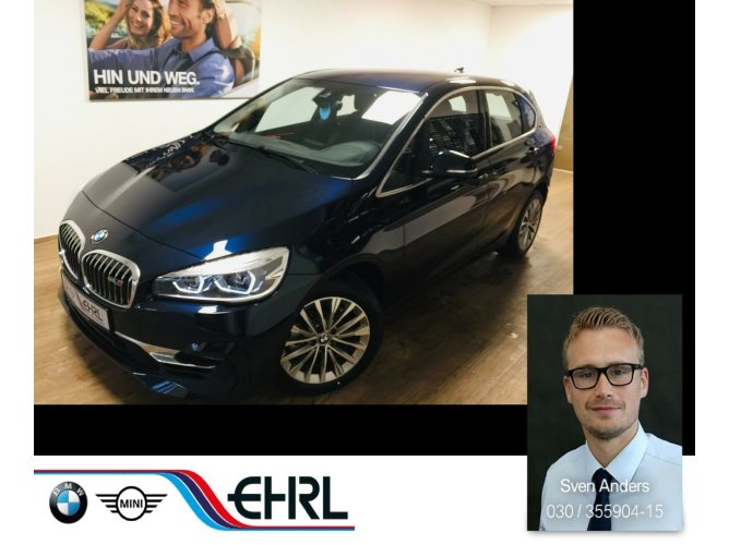 BMW 218i Active Tourer Luxury Line Aut.LED Nav Leder